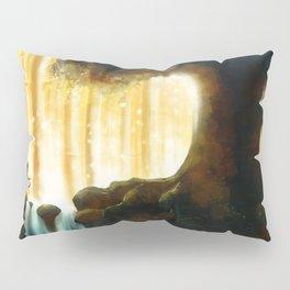 A Step Toward the Magical Wood Pillow Sham