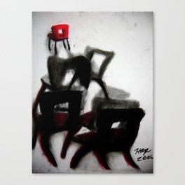 Chairs 1 Canvas Print