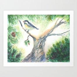 A Bird for Pippin Art Print