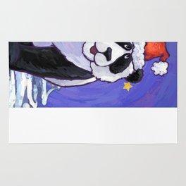 Panda Bear Christmas Rug