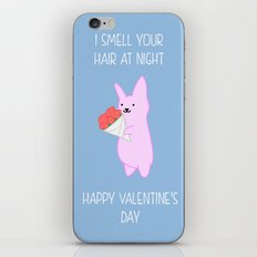 Sniff your hair on Valentine's iPhone & iPod Skin