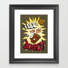 iLOG Framed Art Print