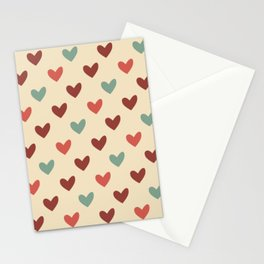 Christmas love candy Stationery Cards