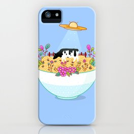 Kidnapped During Ramen Trip iPhone Case