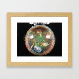 Nebula Pendant Framed Art Print