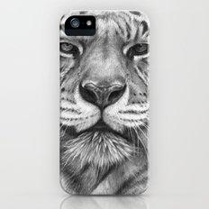 White Tigress  G2013-071 Slim Case iPhone (5, 5s)