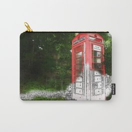 Phone Box by Numbers Carry-All Pouch