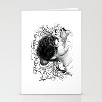 tattoos Stationery Cards featuring Tattoos - L by wreckthisjessy