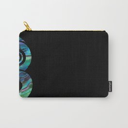 Tiki Black Carry-All Pouch
