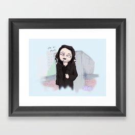 Oh Hi Mark Framed Art Print