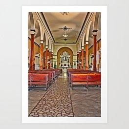 Nicaraguan Church Art Print
