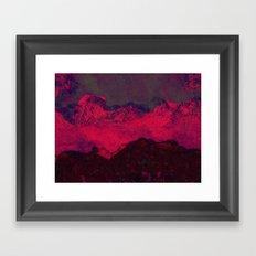 bloody winter Framed Art Print