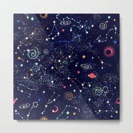 Space print Metal Print