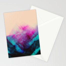 Dark Road Pink Hill Teal Valley Stationery Cards