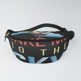 Take Me To The Sky Balloon Fanny Pack