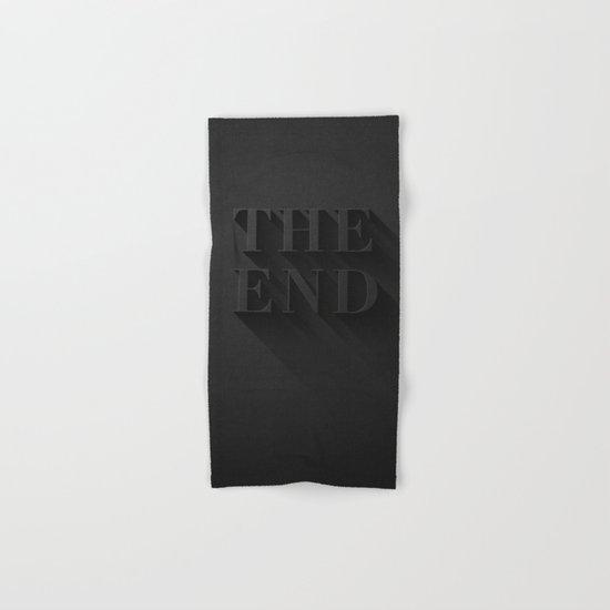 THE END Hand & Bath Towel