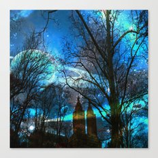 Saturn In Central Park Canvas Print