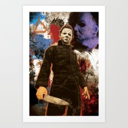 "Michael Myers Halloween ""The Curse of Thorne"" Art Print"