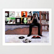 Interfere Art Print