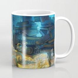 Librarian Octopus Coffee Mug