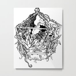 Interplanetarium Metal Print