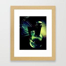 Retro Water. Framed Art Print