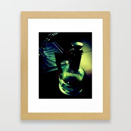 Retro Water. Framed Art Print