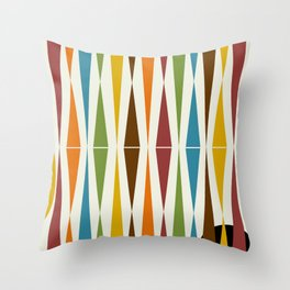 Mid-Century Modern Art 1.4 Throw Pillow