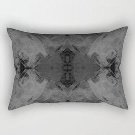 Spongey Existence in White Rectangular Pillow