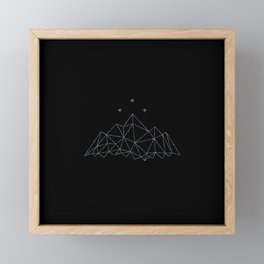 The Night Court insignia from A Court of Frost and Starlight Framed Mini Art Print
