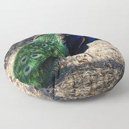 Peacock 2 Floor Pillow