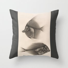 Fishes RTG Throw Pillow