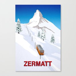 Zermatt Canvas Print