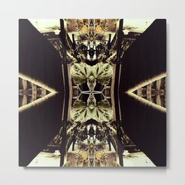 Through My Looking Glass v2 Metal Print