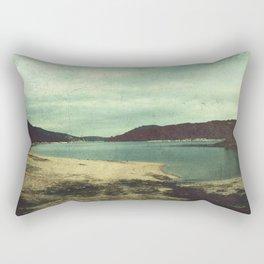 Abandoned beach Rectangular Pillow