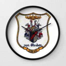 USS VON STEUBEN (SSBN-632) PATCH Wall Clock