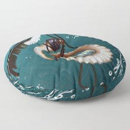 Pendant - The Heart of the Ocean Floor Pillow