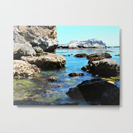 From A Cave Metal Print