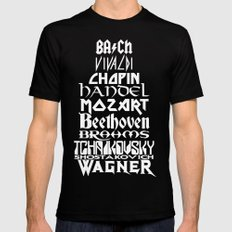 Composers Black MEDIUM Mens Fitted Tee