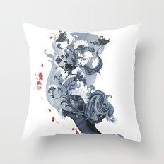 Luckless Throw Pillow
