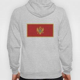 Montenegro country flag Hoody