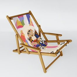 World Full Of Colors Sling Chair
