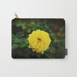 Autumn Yellow Rose Carry-All Pouch