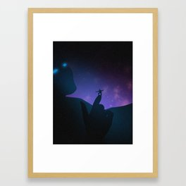 Reasoning Framed Art Print