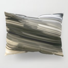 Black and White Abstract Pillow Sham
