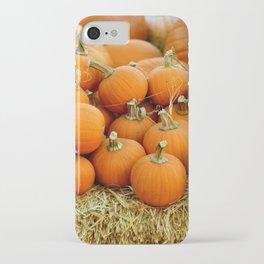 Pumpkin Patch (Color) iPhone Case