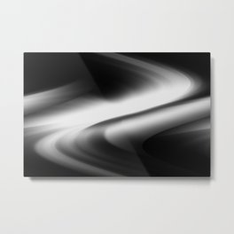 DREAM PATH (Black & Grays) Metal Print