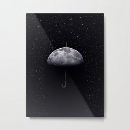Moonbrella Metal Print