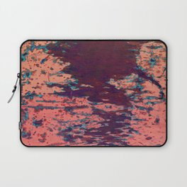 Scratched pink paint Laptop Sleeve