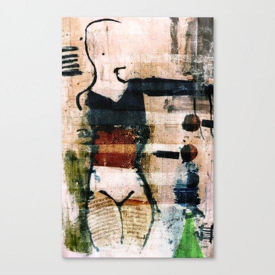dancer 3 v1 Canvas Print